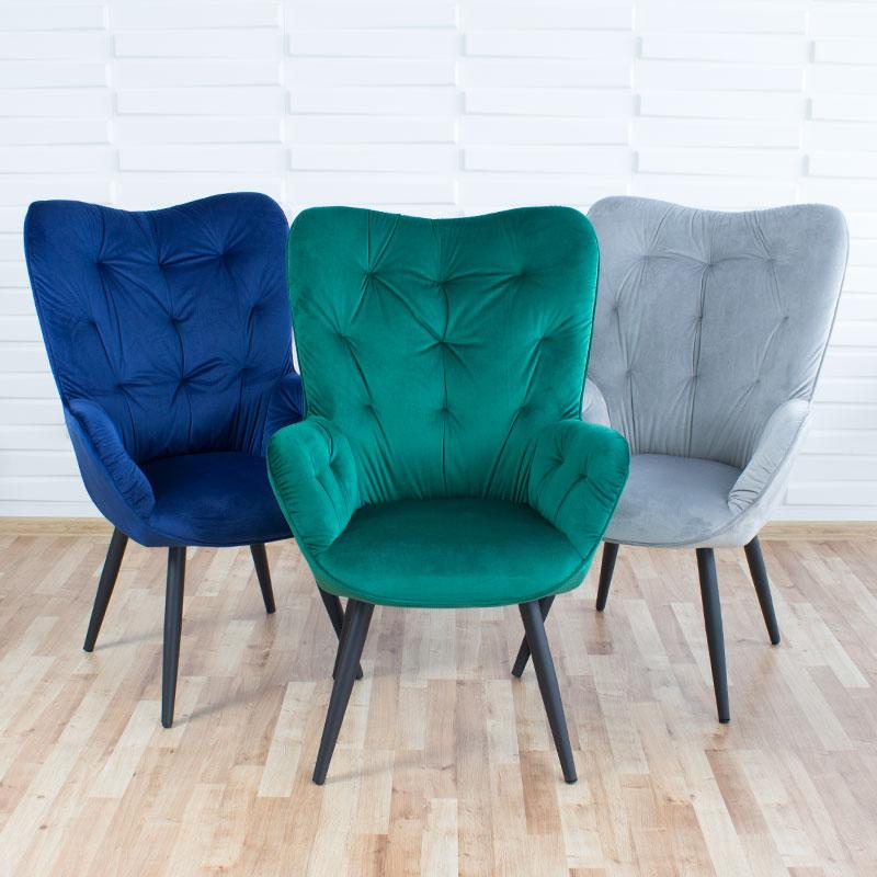 nowoczesny fotel uszak prl wypoczynkowy