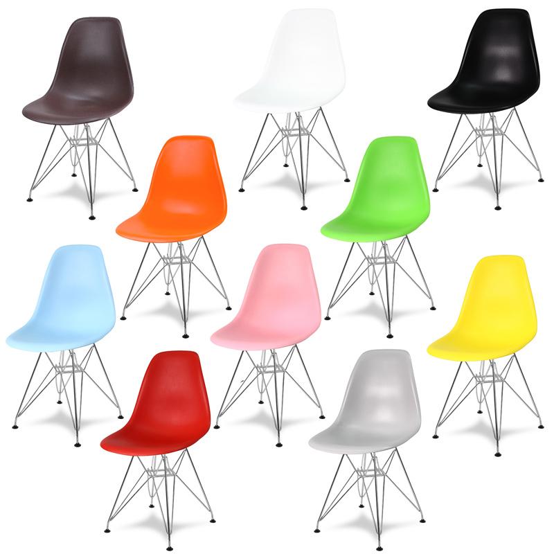 kolorowe krzesła do kuchni enzo praktyczne ładne do jadalni poczekalni modne metalowe nogi