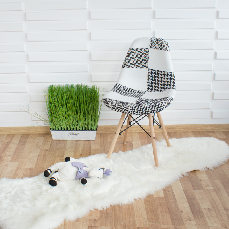 krzesło patchwork enzo nowoczesne