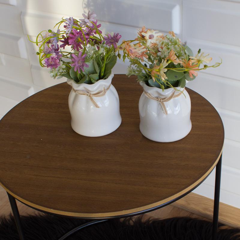 sztuczna roślina kwiat w doniczce
