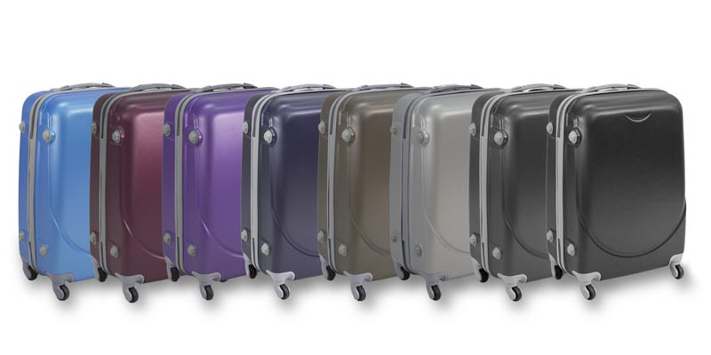 1996dcdb0c5e1 walizka podróżna komplet na kółkach 3 sztuki turystyczna