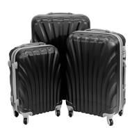 35331686f63b6 Komplet walizek podróżnych na kółkach ABS 20/24/28 UC03004-09