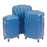 2db5350f04c21 Komplet walizek podróżnych na kółkach turystyczne z rączką ABS 20/24/28  UC03004-
