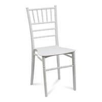 Nowoczesna architektura Krzesło w retoro stylu 807 Biały - HILE YL85