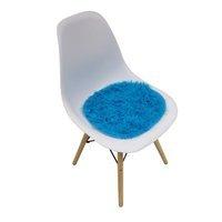 10dc883516a34b Krzesło nowoczesne na drewnianych bukowych nogach 212 AB białe + poduszka  nakładka niebieska do salonu UC62902