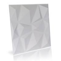 Panel ścienny Dekoracyjny Diamond Biały Hile
