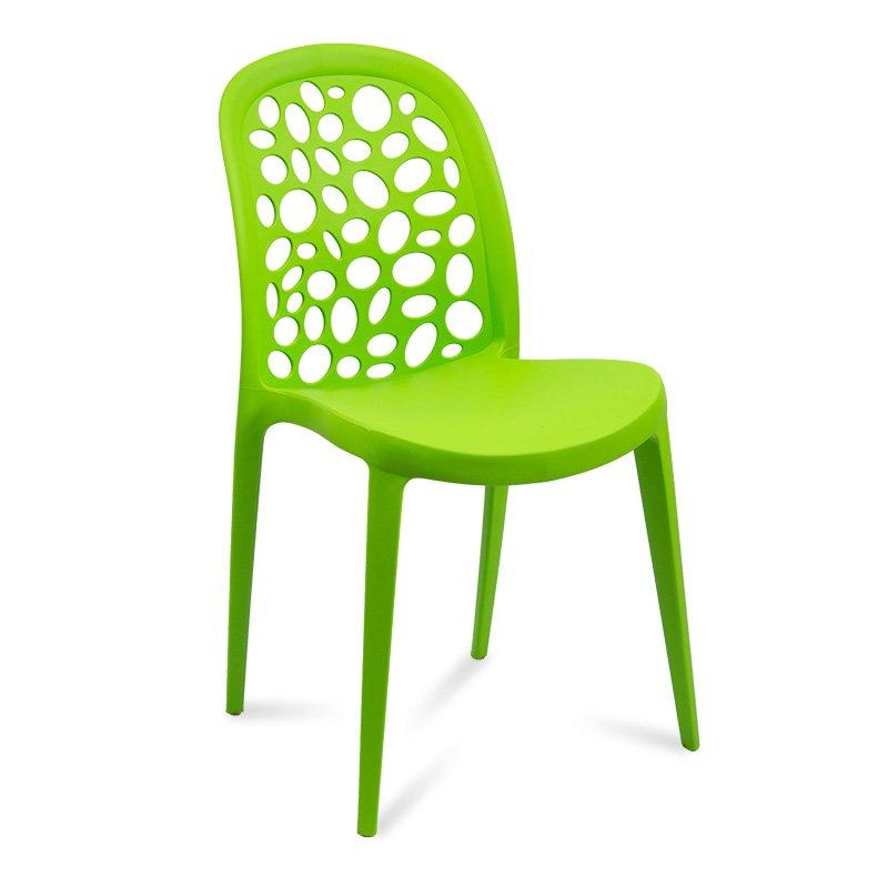 Krzesło Plastic Chair 809 Zielony Hile