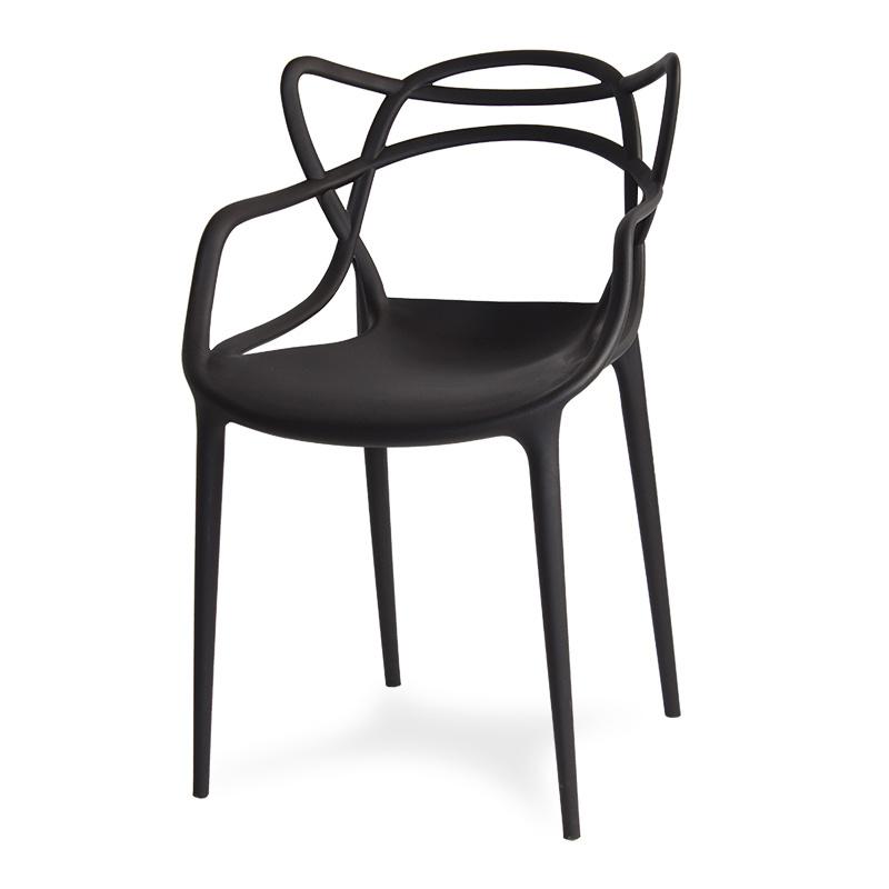 Krzesło ogrodowe 547 Czarny HILE