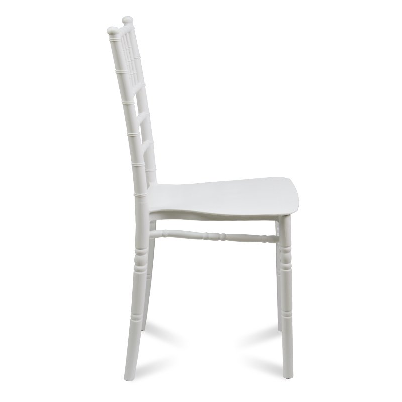 Krzesło W Retoro Stylu 807 Biały Hile