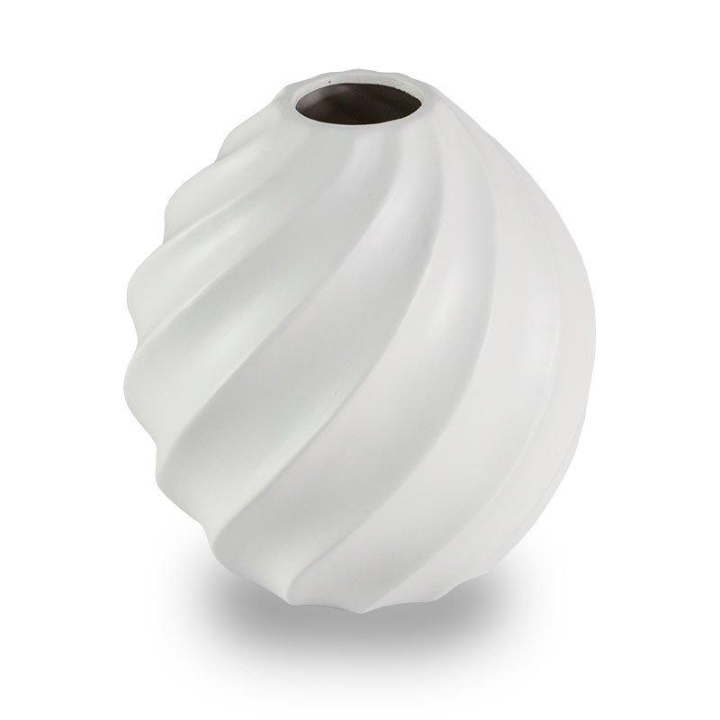 Wazon Ceramiczny Na Kwiatu M 40 Biały Hile