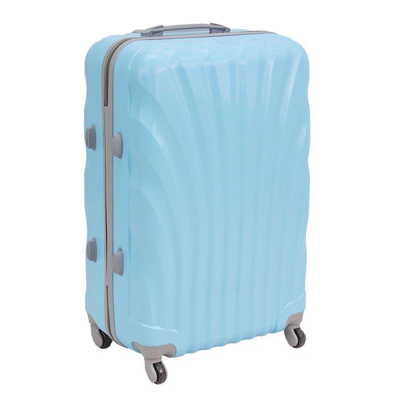 5db57a9e5ff5f ... Komplet walizek podróżnych z wyciąganą rączką na kółkach ABS 20/24/28  UC03004- ...