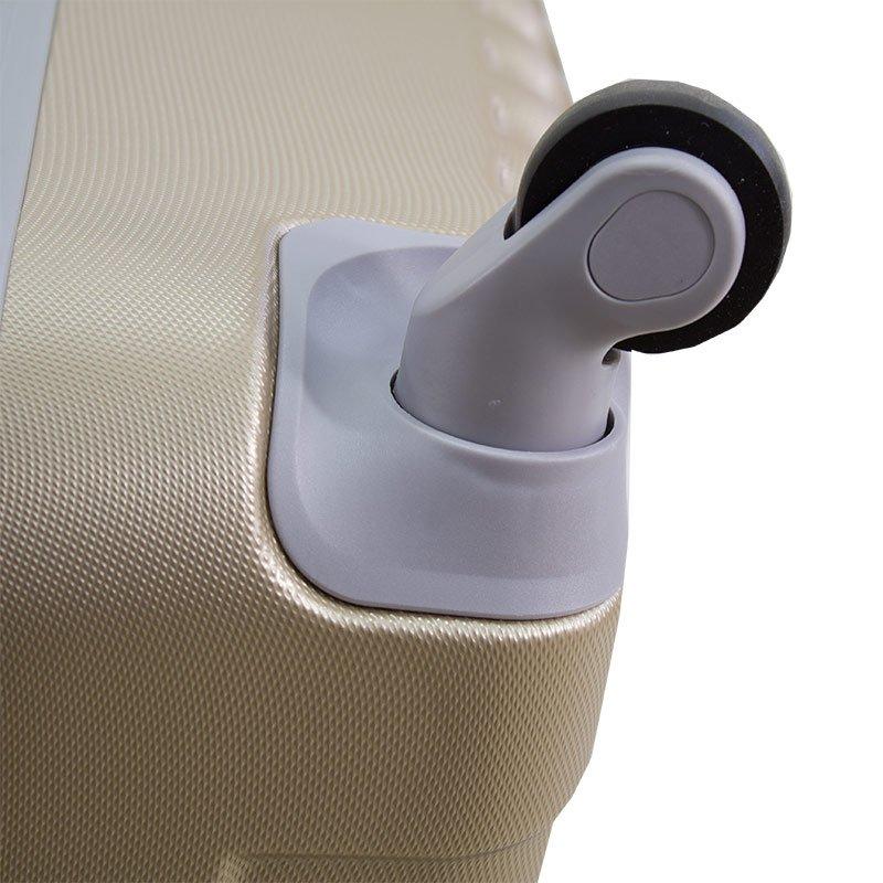 5f9d22a5abb02 Komplet walizek podróżnych na kółkach z wyciąganą rączką ABS 20/24/28  UC03004- ...