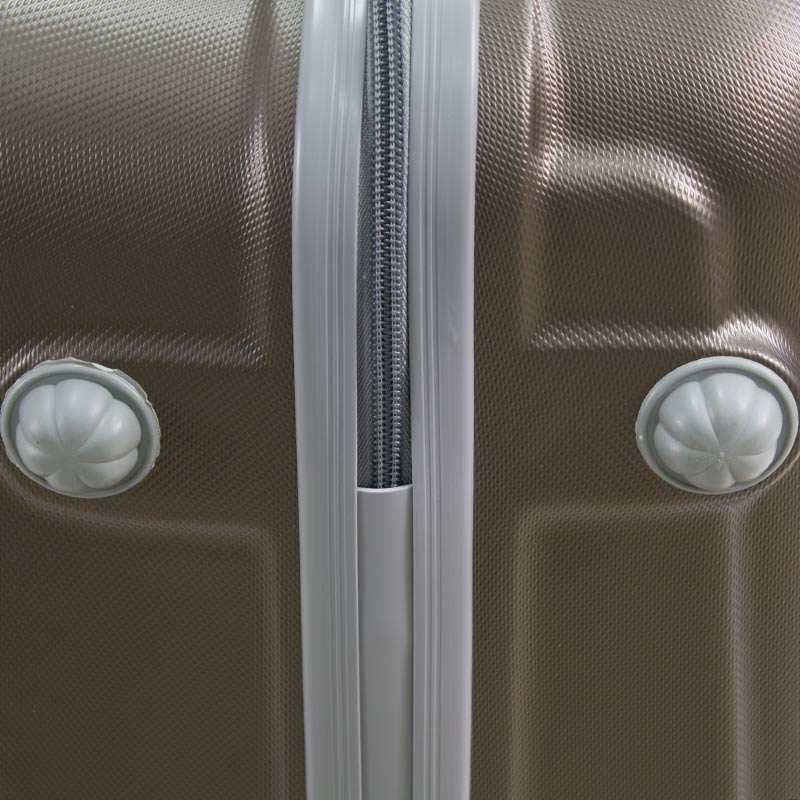 75e2647a63eb9 ... Walizki podróżne Lot Wizzair ABS komplet 20/24/28 kawowe UC03001-07 +  ...