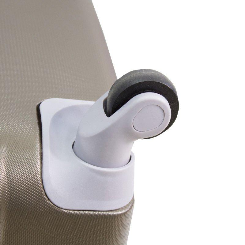 79471ea773856 ... Walizki podróżne Lot Wizzair ABS komplet 20/24/28 kawowe UC03001-07 +; Walizki  kabinowe ABS z rączką ...